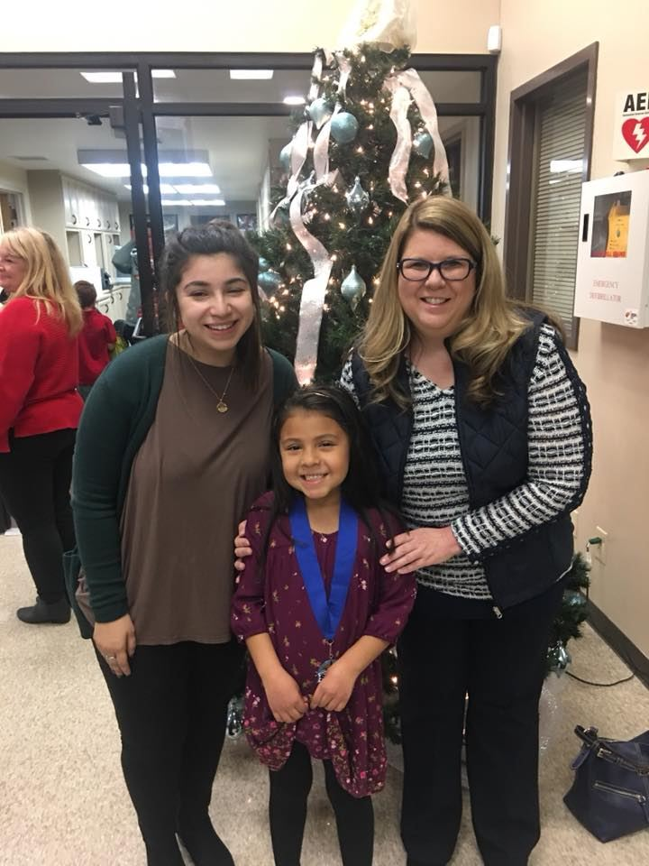 Marlynn Vasquez First Grade Nigh, Superintendents Star Student for November