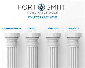FSPS Athletics and Activities Four Pillars art