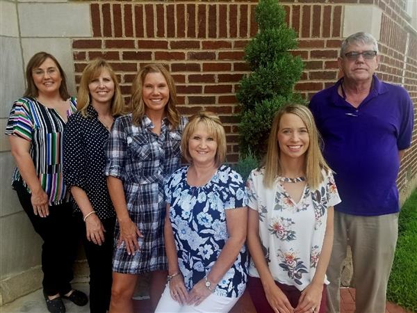 Elementary GATE Specialists: Lorie Horn, Susan Etzkorn, Tammy Irons, Rhonda Solley, Kristen Holloway, Bill Becker
