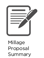 Select to view Millage Proposal Summary
