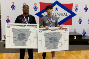 Northside and Southside Wrestlers Win State Titles