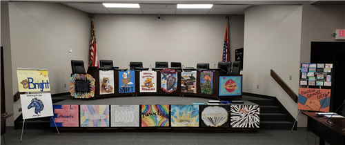 posters to honor board of education