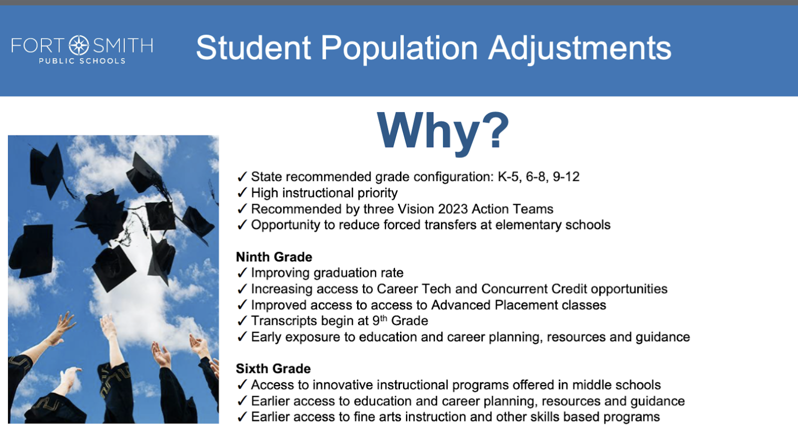 Student Population Adjustments