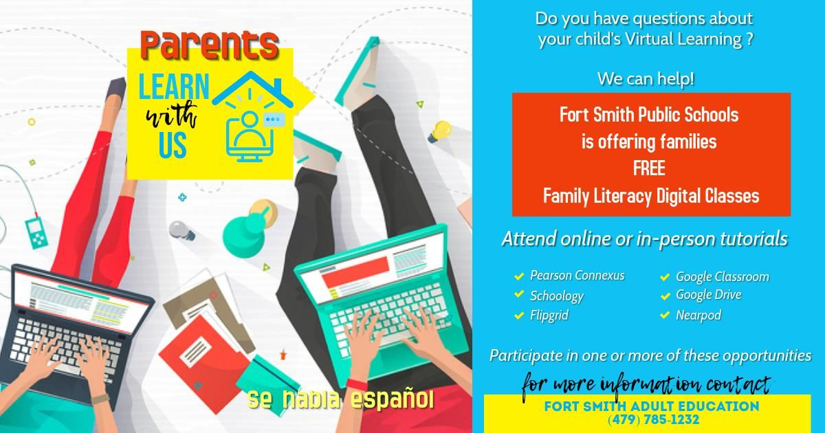 Free Family Literacy Digital Classes