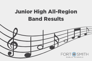 FSPS Junior High All Region Band Results