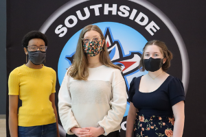 Southside Students Receive Aspirations in Computing Award